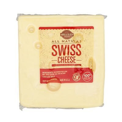 Wellsley Farms Pre-Sliced Swiss Cheese