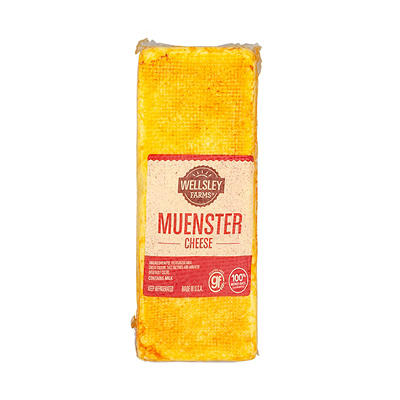 Wellsley Farms Pre-Sliced Muenster Cheese