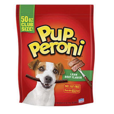 Pup-Peroni Lean Beef Flavor Dog Snacks, 50 oz.