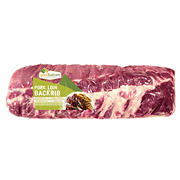 Good Nature Pork Loin Back Ribs - Price Per Pound, 2.0-3.5 lb