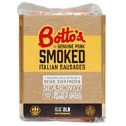 Botto's Smoked Italian Sausages, 2 lbs.