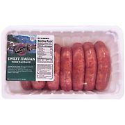 DiLuigi Sweet Italian Pork Sausage, 4.7-5.25