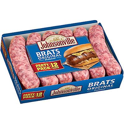 Johnsonville Original Bratwurst, 12 ct./2.85 lbs.