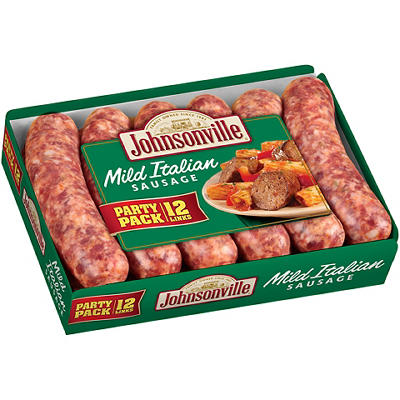 Johnsonville Sweet Italian Sausage Links, 12 ct./2.85 lbs.