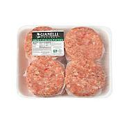 Gianelli Sweet Italian Pork Sausage Patties, 3 - 5 lbs.
