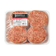 Gianelli Hot Italian Sausage Patty, 2.5 - 3.5 lbs.