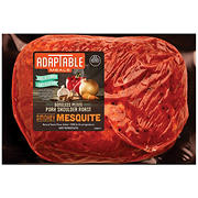 Swift Premium Dry Rubbed Boneless Smokey Mesquite Petite Pork Shoulder Roast, 2.16-2.7 lb