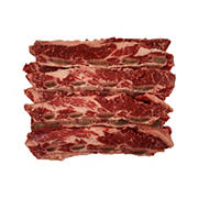 USDA Choice Flanken Style Beef Chuck Short Ribs, 2.75-3.5 lbs.