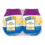 Perdue Whole Cornish Hen With Giblets Twin Pack