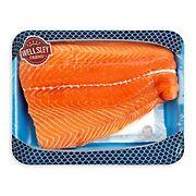 Wellsley Farms Skin On Fresh Norwegian Salmon Fillets, 1.25-1.75 lbs.
