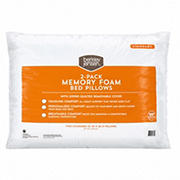 Berkley Jensen Standard-Size Memory Foam Pillow, 2 pk.