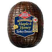Maple and Honey Turkey Breast, 0.75-1.25 lb Standard Cut