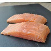 Wellsley Farms Skin On Salmon Portions, 1-2 lbs.
