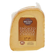 Wellsley Farms Signature Smoked Gouda Cheese, 16 oz.