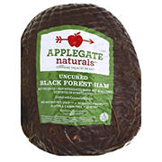 Uncured Black Forest Ham, 0.75-1.25 lb Standard Cut