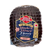 Dietz and Watson Maple Honey Ham, 0.75-1.25 lb Standard Cut