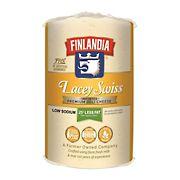 Finlandia Lacy Swiss Cheese, 0.75-1.25 lb Standard Cut