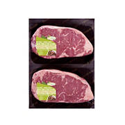 Good Nature Strip Loin Steak Boneless Natural, 1.5-2 lb
