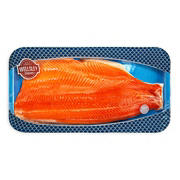 Wellsley Farms Skin On Sockeye Salmon, 1-1.5 lbs.