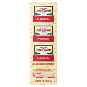Land O'Lakes Deli American Cheese - White, 0.75-1.25 lb Standard Cut