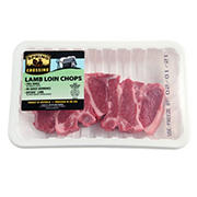 Australian Lamb Loin Chop, 1.25-1.8 lbs.