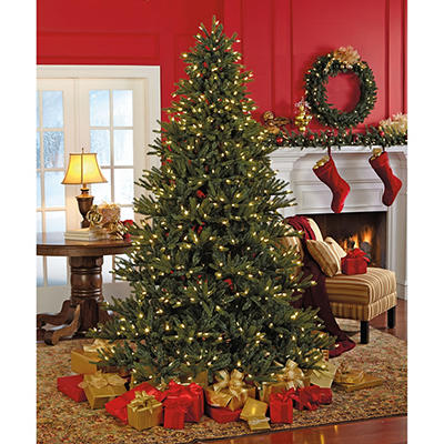 Sylvania 7.5' 8-Function Color Changing Prelit LED Tree with Foot Peda