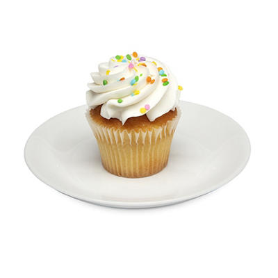 Wellsley Farms Large Yellow Cupcakes, 12 ct.