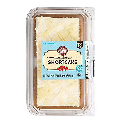 Wellsley Farms Strawberry Shortcake, 28.6 oz.