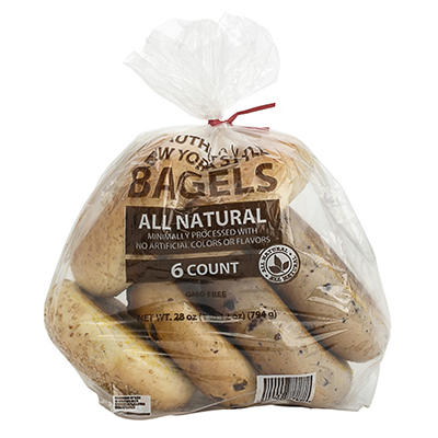 Wellsley Farms Farm Bagels, 6 ct.