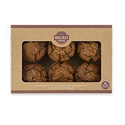 Wellsley Farms Raisin Bran Muffins, 6 ct./6 oz.