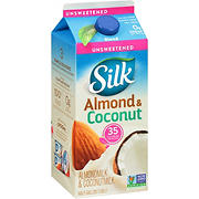Silk Unsweetened Almondmilk & Coconutmilk Blend, 0.5 gal.