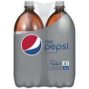 Diet Pepsi Soda, 4 pk./2L bottles
