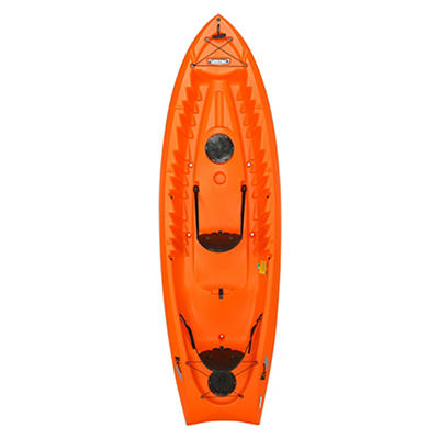 "Lifetime Kokanee 10'6"" Sit-On-Top Kayak - Orange"