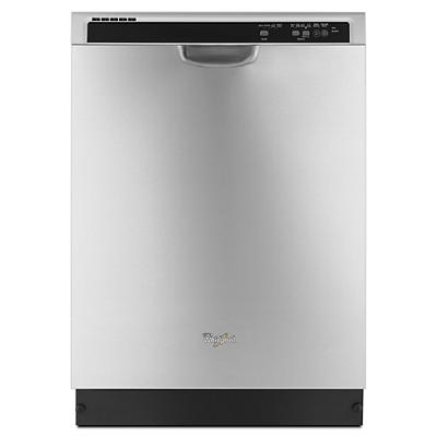 Whirlpool Dishwasher with 1-Hour Wash Cycle - Stainless Steel