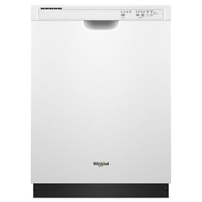 Whirlpool Dishwasher with 1-Hour Wash Cycle - White