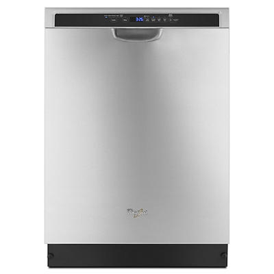 WhirlpoolDishwasher with 1-Hour Wash Cycle - Stainless Steel