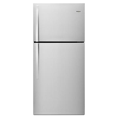 Whirlpool 19.2-Cu.-Ft. Top-Freezer Refrigerator - Stainless Steel