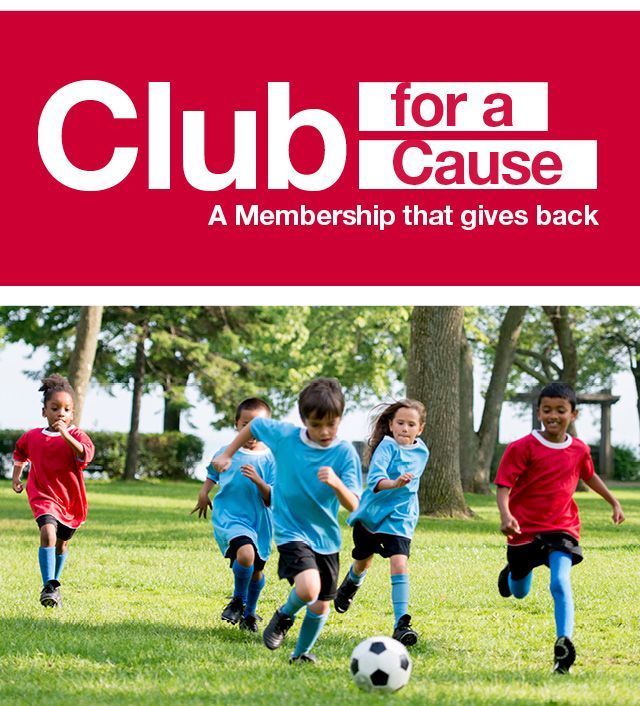 lub for a cause. A membership that gives back.