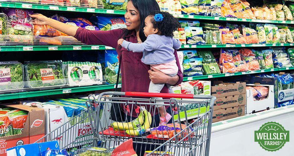 Fresh Choices — Woman Selecting Produce