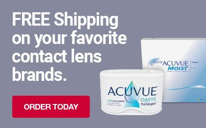 Free shipping on your favorite contact lens brands. Shop now.