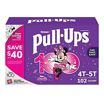 Huggies Pants Pull-Ups Ni/ña Talla 5 12-17 Kg 102 uds