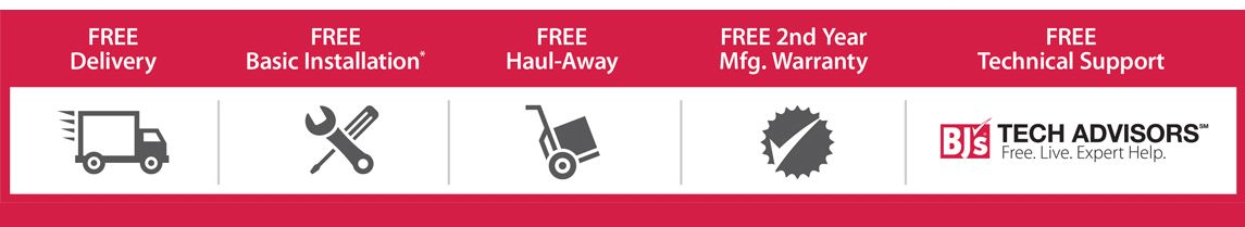 BJ's Tech Advisors - Free Delivery, Free Installation, Free Haul Away