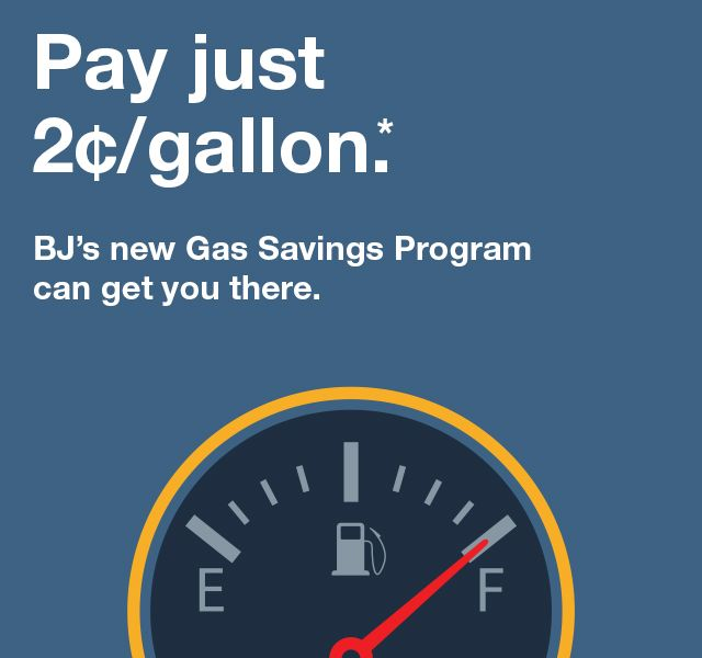 Pay as little as 2 cents per gallon
