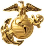 Enlisted Eagle, Globe, and Anchor.
