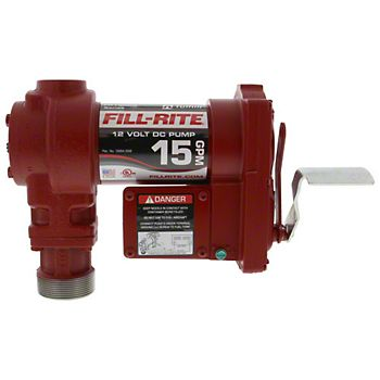 1210 - 12v DC Heavy Duty Fuel Pump