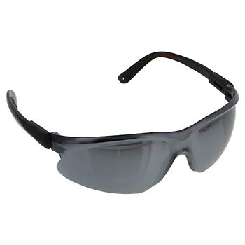 40124 - Riptide Silver Mirrored Lens Safety Glasses