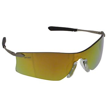 Rubicon® Fire Mirrored Anti-Scratch Lens Safety Glasses