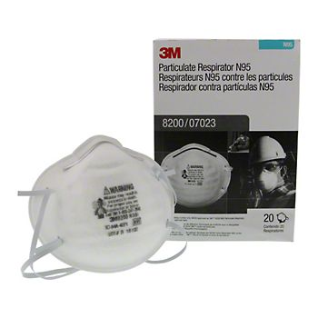 40250 - 3M 8200 N95 Particulate Respirator