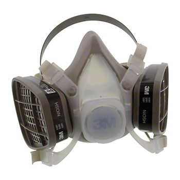 40252 - 3M 5000 Series Respirator With N95 Prefilter