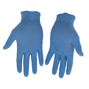 40540 - Boss® Disposable 4Mil Powdered Nitrile Gloves